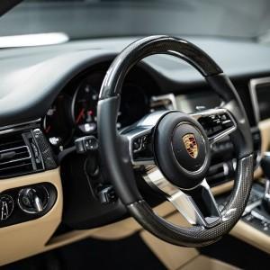 Porsche   detailing wnętrza