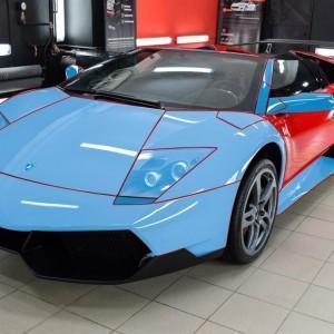 Oklejanie Lamborghini Murcialego w Szczecinie