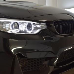 BMW M4 + zabezpieczenie Crystal Serum Black