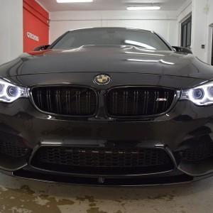 BMW M4 + zabezpieczenie Crystal Serum Black 2