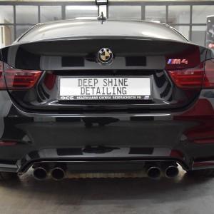 BMW M4 + zabezpieczenie Crystal Serum Black 11