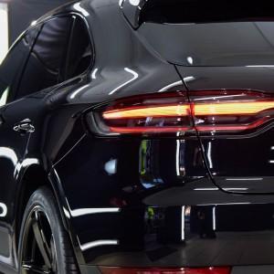Porsche Macan zabezpieczenie folią bezbarwną + powłoka cs ultra 1
