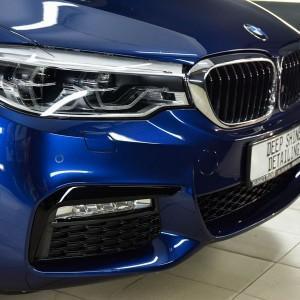 BMW 5 zabezpieczenie folią bezbarwną + powłoka cs ultra 8