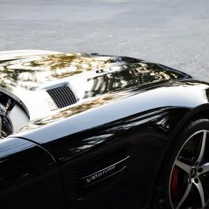 Mercedes GTS AMG zabezpieczenie folią bezbarwną + powłoka cs ultra 7