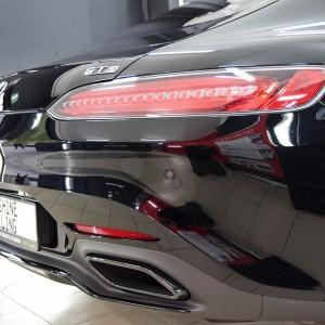 Mercedes GTS AMG zabezpieczenie folią bezbarwną + powłoka cs ultra 17