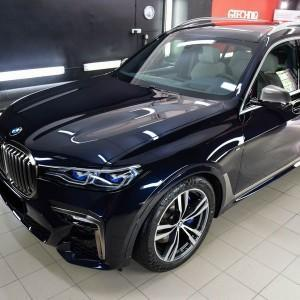 BMW X7 zabezpieczenie powłoką ceramiczną
