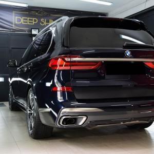 BMW X7 zabezpieczenie powłoką ceramiczną 11