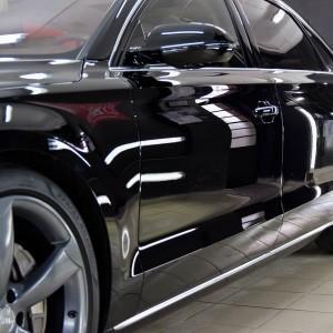 Audi A8 hybrid (pełna korekta + powłoka CS ULTRA) 1