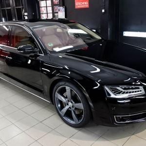 Audi A8 hybrid (pełna korekta + powłoka CS ULTRA) 3