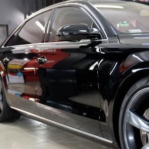 Audi A8 hybrid (pełna korekta + powłoka CS ULTRA) 4