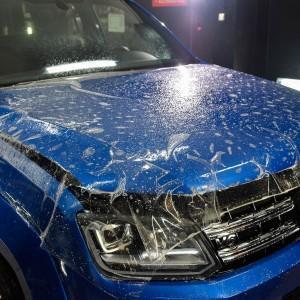VW Amarok zabezpieczenie folią bezbarwną całego auta