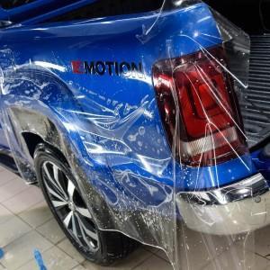 VW Amarok zabezpieczenie folią bezbarwną całego auta 1
