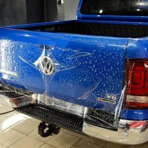 VW Amarok zabezpieczenie folią bezbarwną całego auta 2