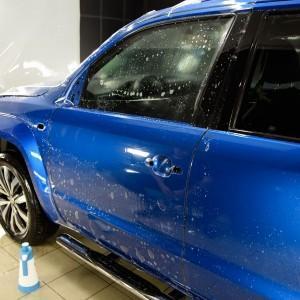 VW Amarok zabezpieczenie folią bezbarwną całego auta 4