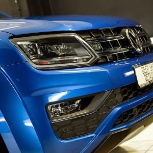 VW Amarok zabezpieczenie folią bezbarwną całego auta 3