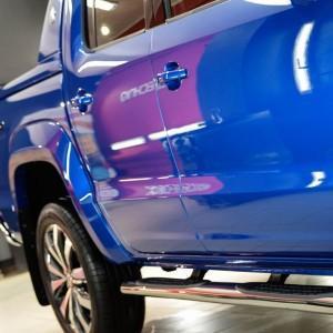 VW Amarok zabezpieczenie folią bezbarwną całego auta 5