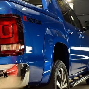 VW Amarok zabezpieczenie folią bezbarwną całego auta 8