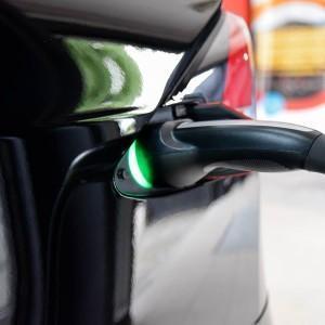 Tesla X zabezpieczenie folią bezbarwną + powłoka cs ultra 5
