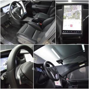 Tesla X zabezpieczenie folią bezbarwną + powłoka cs ultra 18