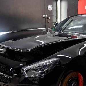 oklejanie Mercedesa GTS AMG