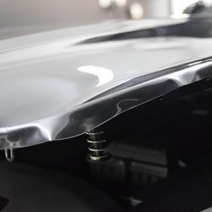 oklejanie Mercedesa GTS AMG w deep shine detailing
