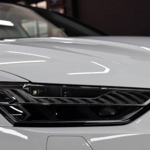 biała folia ochronna na Audi S7