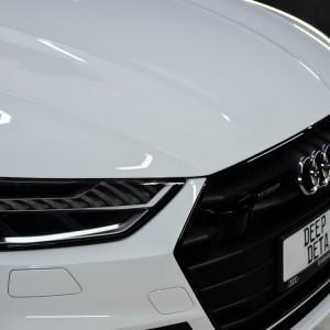 oklejone Audi S7 Szczecin
